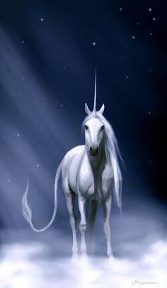 Space ray by Nightmare-v.deviantart.com ~ Unicorn