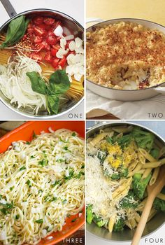 One pot pasta recipes.