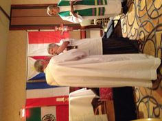 At healing service 2012 Synod
