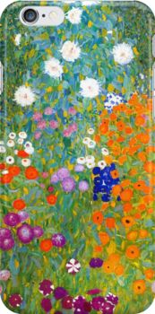 Flower Garden by Gustav Klimt Vintage Floral Snap Case for iPhone 6 & iPhone 6s