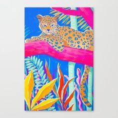 Exotic Jungle Clear Acrylic Organizer/serving Tray by Sun Lee - Medium 15 x Framed Art Prints, Canvas Prints, Lion Illustration, Jungle Art, Animal Wallpaper, Iphone Skins, Medium Art, Cool Art, Deco
