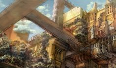Week 12 - Final Fantasy XII - Concept Art Mon - Archades