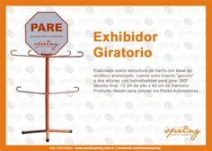 Exhibidor Giratorio