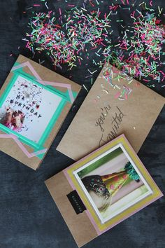 Wrap Mom's Gift in festive DIY wrapping featuring photos of you and her! #MothersDay