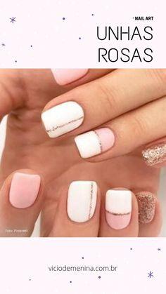 Cute Summer Nail Designs, Cute Summer Nails, Pretty Nail Designs, Nail Summer, Spring Nails, Nails Summer Colors, Pedicure Summer, Line Nail Designs, Summer Toenails