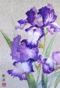 chinese brush painting and iris - Bing Images