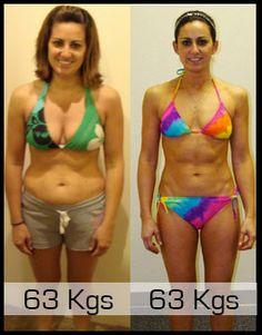 63Kg    FAT VS MUSCLE
