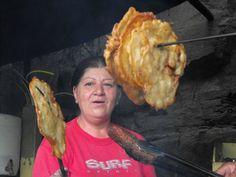 Bacalaitos -- Cod fish  fritters