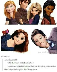 Disney crossed with Doctor Who
