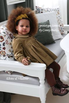 Samira Reborn Vinyl Toddler Doll Kit by Conny Burke - Mandeep Madden Dolls Reborn Child, Bb Reborn, Reborn Toddler Girl, Reborn Doll Kits, Silicone Reborn Babies, Silicone Baby Dolls, Newborn Baby Dolls, Baby Girl Dolls, Child Doll