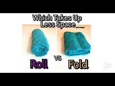 Diy Space Saving Ideas Beautiful How to Fold and Roll towels which Saves Space Folding Bath Towels, Towel Storage, Towel Organization, Diy Organisation, Organizing Ideas, Small Linen Closets, How To Roll Towels, Washing Clothes, Space Saving