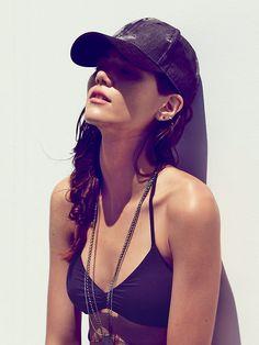 Acid Wash Baseball Hat at Free People Clothing Boutique
