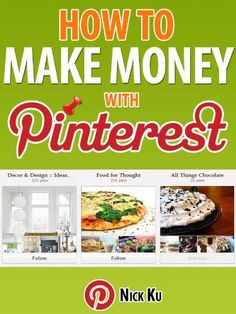 HOW TO MAKE MONEY WITH PINTEREST make extra money at home, make extra money in college