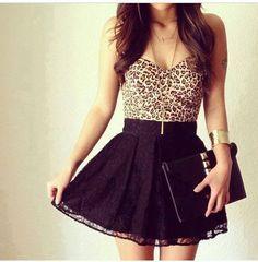 el estampado de leopardo esta muy de moda