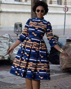 Flaring South African Traditional Dresses For Women 2019 #traditiona