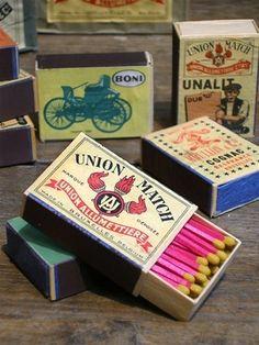 Vintage-tulitikut [linkki tuotteeseen]