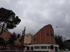 When in Rome...see Sant'Ambrogio all'Aurelio on Via Girolamo Vitelli. #Rome #Roma #QuantoSeiBellaRoma #atasteofrome #discoverRome #onlyinRome #church #Aurelio #GirolamoVitelli #SantAmbrogio #StAmbrose #InspirationRome #romechurches #churchesofRome  https://romandespatches.blogspot.co.uk/2017/02/when-in-romesee-santambrogio-allaurelio.html