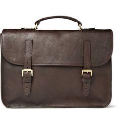 Mulberry Elkington Leather Briefcase   MR PORTER