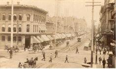 Larimer Street, Denver c1880