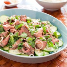 Thai Grilled-Beef Salad | America's Test Kitchen