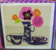 print & pattern. card