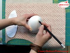 """Academy of Craft STORK: How to make Easter egg? Course """"step by step"""" Easter Crafts, Holiday Crafts, Making Easter Eggs, Free To Use Images, Easter Holidays, Fabric Covered, Homemade Gifts, Decoupage, Diy And Crafts"""