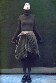 The Coming Pleats by Shigeo Shidara for High Fashion Magazine No. 10 October 1998