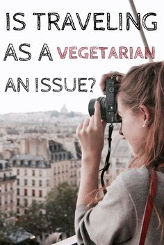 is traveling as a vegetarian an issue or a problem