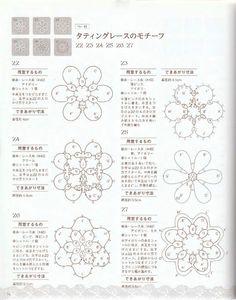 日本首饰杂志----钩针与梭织