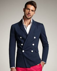Firenze Double-Breasted Blazer by DSquared2 at Bergdorf Goodman.