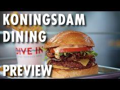 ▶ Koningsdam Dining Preview ~ Holland America Line ~ New Cruise Ship – PopularCruising.com