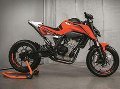 Definitely looks like a hooligan machine.. #KTM #790 #PistonAddictz