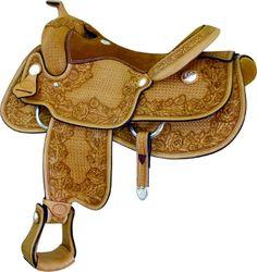Billy Cook Hamley Rose Reiner Saddle   ChickSaddlery.com