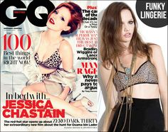 Make Jessica Chastain's Look Happen: For Love and Lemons Cheetah Bra