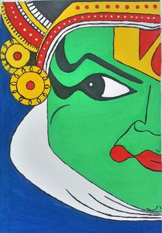 Kathakali face # my new  poster painting