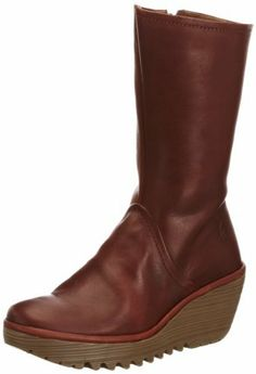 709d0763f Fly London Womens Yam Sebta Boots P500481005 Ground 2.5 UK