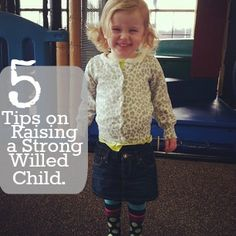 Diapers & Daisies: Raising a Strong Willed Child Series: 5 Tips on Raisng a Strong Willed Child.