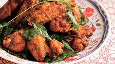 Looking for Kunyit (turmeric) fried chicken recipe. Enjoy fried chicken and learn how to make Kunyit (turmeric) fried chicken. Malaysian Cuisine, Malaysian Food, Malaysian Recipes, Fried Chicken, Tandoori Chicken, Chicken Rub, Chicken Breasts, Jackfruit Pulled Pork, Chicken