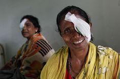 La speranza in un nuovo futuro è nel dolce sorriso di Mulika dopo l'operazione di cataratta.  http://www.sightsavers.it/il_nostro_lavoro/le_persone_che_avete_aiutato/19509.html