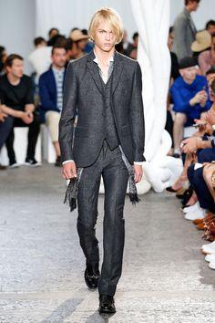 John Varvatos - Spring/Summer 2015 - Milan Fashion Week #johnvarvatos #summer2015 #milanfashionweek #trends #runway #essentialhomme