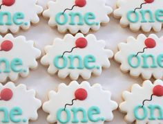 First birthday cookies by Miss Biscuit First Birthday Cookies, First Birthday Parties, Birthday Celebration, Girl Birthday, First Birthdays, Decorating Supplies, Cookie Decorating, Decorating Ideas, Baby Cookies