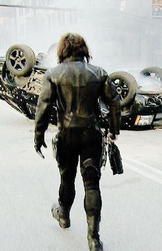 I hate to see you go, but I love watching you leave. Winter Soldier gif