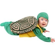 ## VERY Cute ##: Child's Infant Baby Turtle Halloween Costume (12 Months)