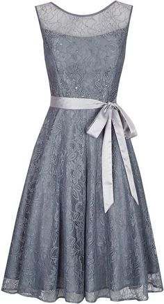House of Fraser Kaliko Bead and Lace Prom Dress on shopstyle.com  Wish this had a 3/4 sleeve.