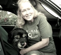 Karen lives in a car with her dog in San Diego. She says the hardest thing about being homeless is the loneliness.