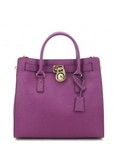 Michael Kors Hamilton Handbag Pantone color of the year 2014: radiant  orchid #duifhuizen
