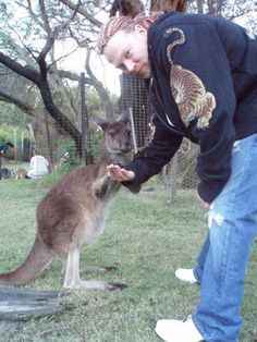 HE LOVES HIS ANIMALS...HES SO  AWESOME IN EVERY WAY......