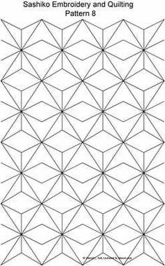 Sashiko Pattern 8 of 8