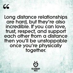 20 Quotes PROVE Long Distance Relationships Are Worth The Work 20 Long Distance Relationship Quotes To Keep You Positive Long Distance Relationship Quotes, Quotes About Love And Relationships, Life Quotes Love, Funny Relationship, Love Quotes For Him, Long Quotes About Love, Support Quotes For Him, Healthy Relationships, Second Chance Relationship Quotes