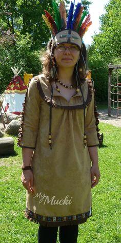Indianer-Kostüm (Schnitt die MAmina von Frau Liebstes)